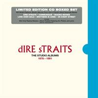DIRE STRAITS: THE STUDIO ALBUMS 1978-1991 6CD