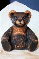 Sitjande teddybjørn, stor