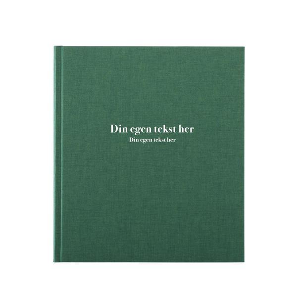 Hyttebok personlig preg - Duo Grønn
