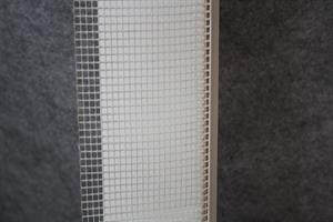 PVC-jalustaprofiili DuoBase, eristysvahvuus 100-160mm, 2000mm / 10 kpl