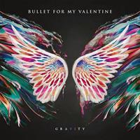 BULLET FOR MY VALENTINE: GRAVITY-PINK/BLACK LP