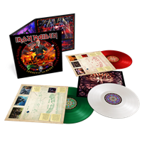 IRON MAIDEN: NIGHTS OF THE DEAD-LEGACY OF THE BEAST-COLOURED 3LP