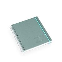Kalender Dusty Green A6+ Vev Wire-o - 2022