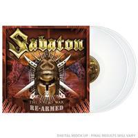 SABATON: THE ART OF WAR-RE-ARMED-WHITE 2LP