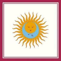 KING CRIMSON: LARKS' TONGUES IN ASPIC LP