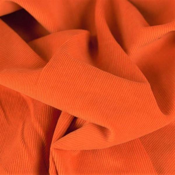 Fine Corduroy Plain, orange