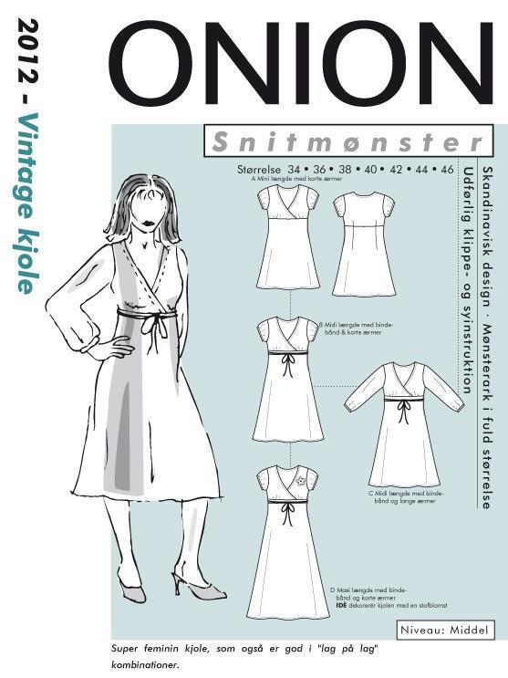 Onion Vintage kjole - 2012