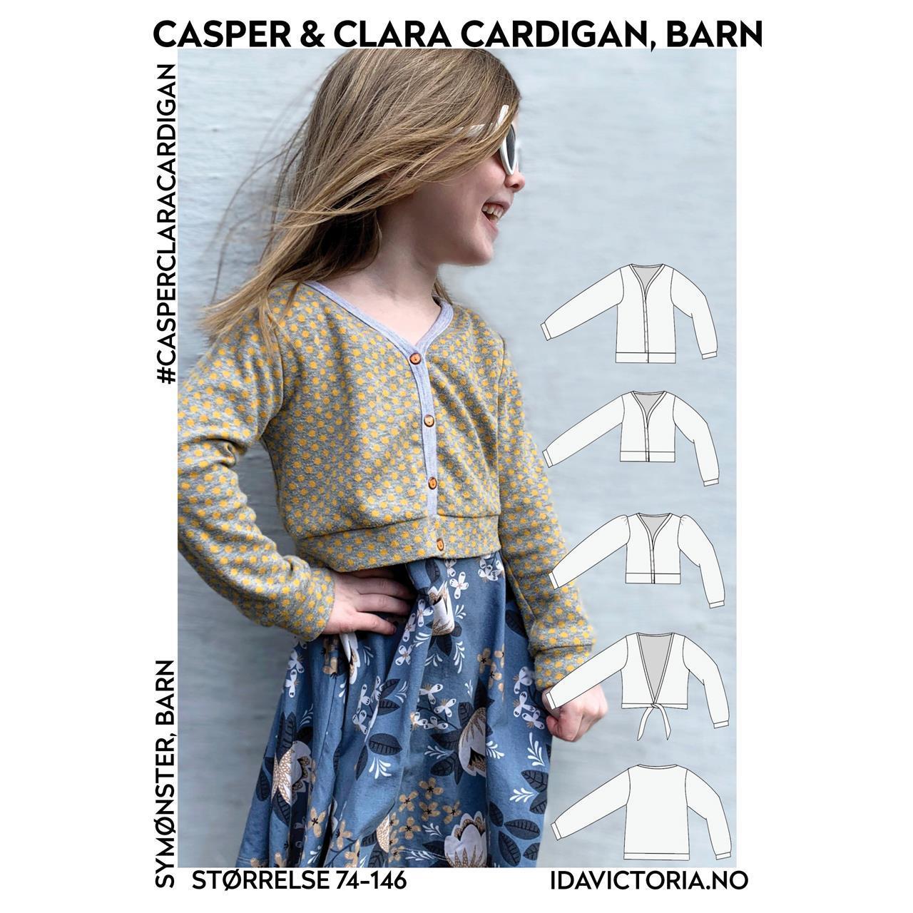 Casper og Clara Cardigan, barn