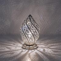 Twist Filigrain Bordlampe - Small Silver