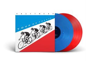 KRAFTWERK: TOUR DE FRANCE-BLUE & RED 2LP