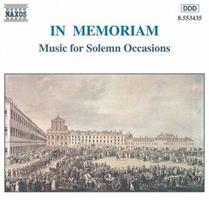 IN MEMORIAM-MUSIC FOR SOLEMN OCCASIONS (FG)