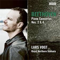 BEETHOVEN/LARS VOGT: PIANO CONCERTOS 2 & 4 (FG)