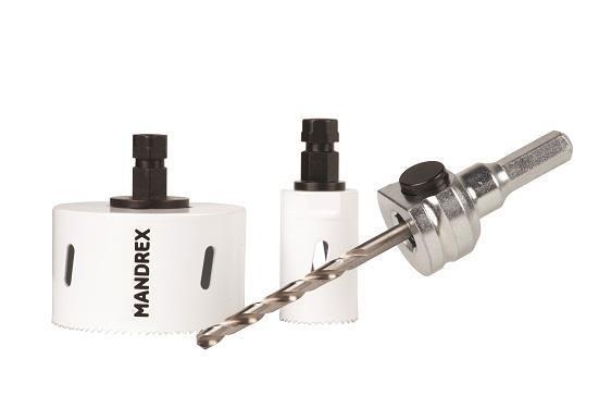 Hålsågskit MXqs - Elektriker - Bi-metal FineXcut M42