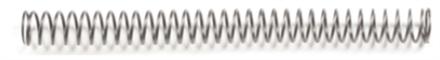 Rekylfjäder STI 18lb chrome