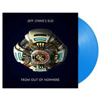 JEFF LYNNE'S ELO: FROM OUT OF NOWHERE-LIMITED BLUE LP