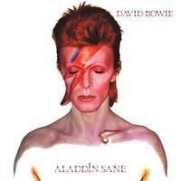 BOWIE DAVID: ALADDIN SANE-LIMITED SILVER LP