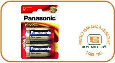 Batteri Pro Power Gold LR20/D/2BP