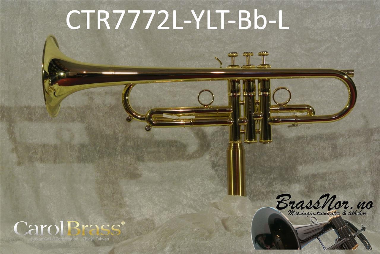 Bb trompet CTR7772L-YLT-L