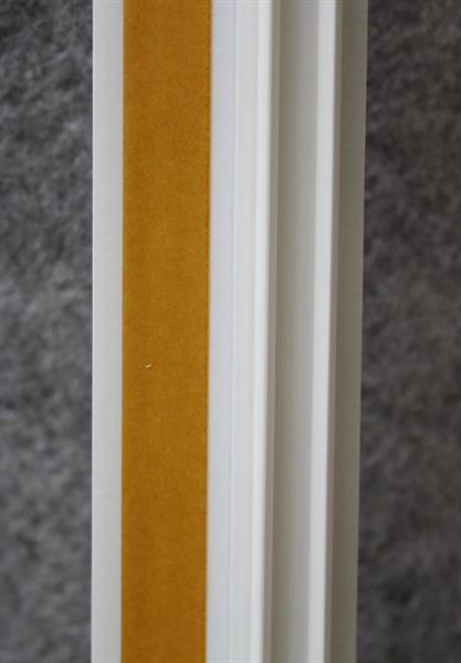 Ikkunalista PVC 9mm GEL 2600mm / 60 kpl