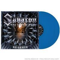 SABATON: ATTERO DOMINATUS RE-ARMED-BLUE 2LP