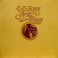 ZZ TOP: ZZ TOP'S FIRST ALBUM LP