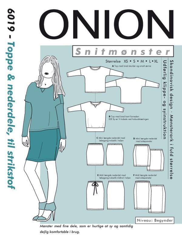 Onion: 6019 -  Topp og nederdel