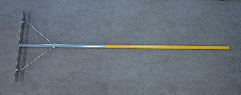 Raka 2m alu fast arm, blad alu J-profil