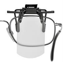 Täckskiva för vanliga glasögon, transparent