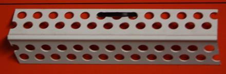Kulmalista PVC 25 x 25mm x 2500mm / 100 kpl