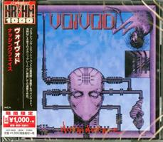 VOIVOD: NOTHING FACE-JAPAN IMPORT CD