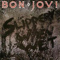 BON JOVI: SLIPPERY WHEN WET LP