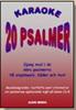 20 PSALMER  -  KARAOKE-CD