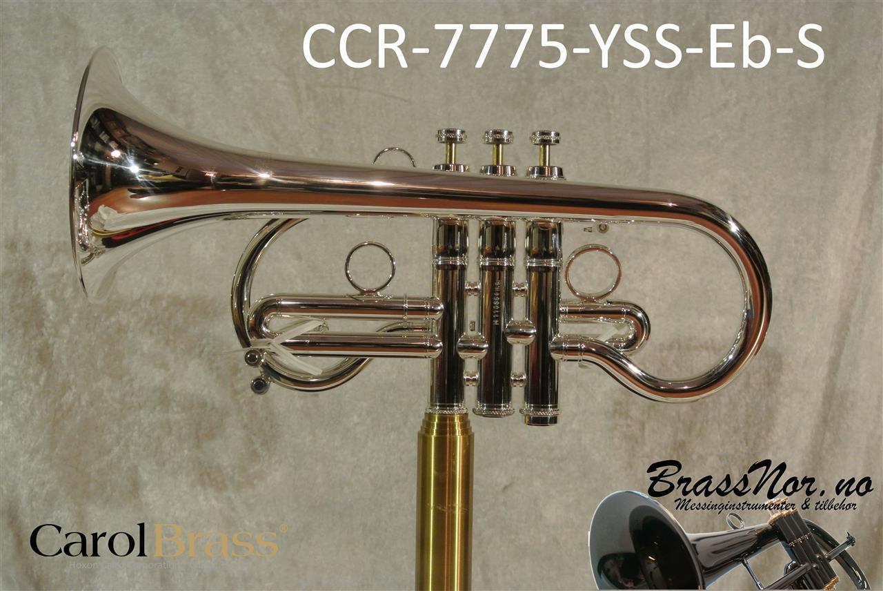 Kornett Eb CCR-7775-YSS-Eb-S M bore de luxe bag