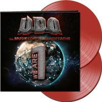 U.D.O.: WE ARE ONE-CLEAR RED 2LP