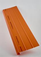 Trappstegsskydd för trätrappor rundad nos 150x600 mm