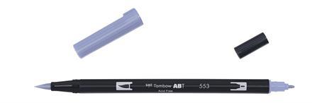 Brush Pen · Dual Brush · Pastel Grålilla