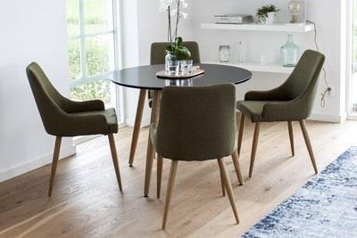 Polar matbord och 4 st Plaza matstolar