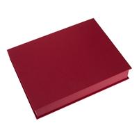 Vevboks A4 Iris Rød