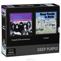 DEEP PURPLE: FIREBALL & IN ROCK 2CD