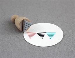 Stempel Small Vimpel Striper