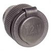 Pistorasia 6- 50V 16A tupakansytytin reikä / suojaläppä