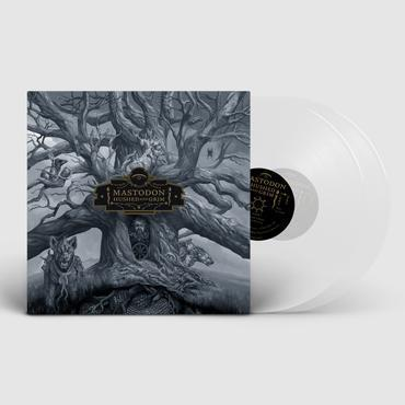 MASTODON: HUSHED AND GRIM-INDIE ONLY CLEAR 2LP