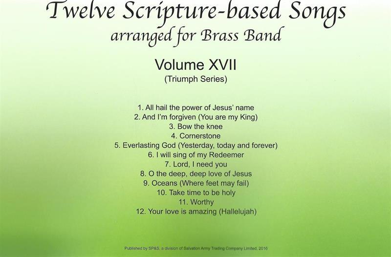 TWELVE SCRIPTURE-BASED SONGS - VOL XVII