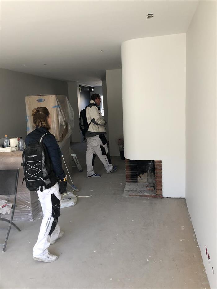 Vi utfører malerarbeider i leilighet på Frogner