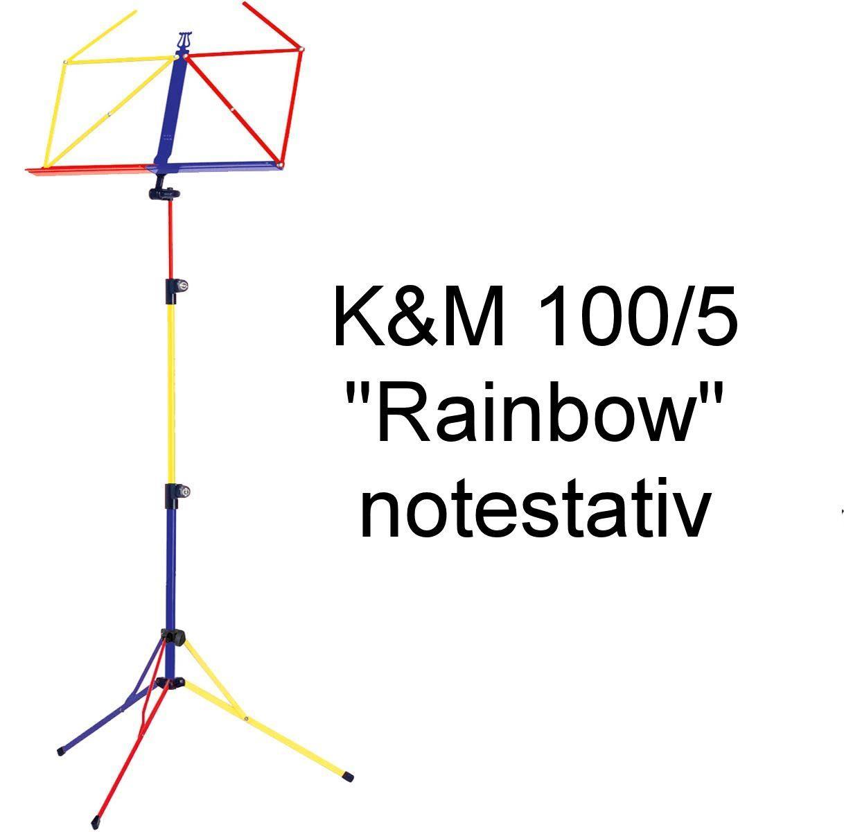 """K&M """"Rainbow"""" notestativ"""