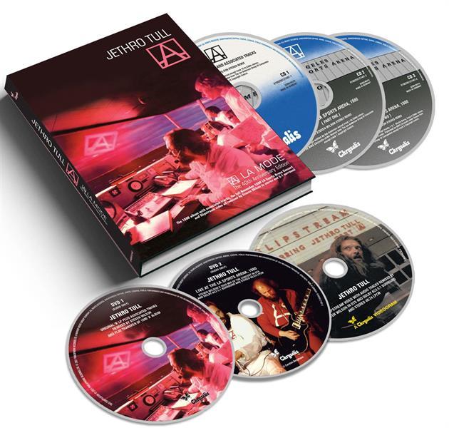 JETHRO TULL: A - A LA MODE-40TH ANNIVERSARY 3CD+3DVD