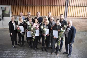 Företagare fick utmärkelse för ökad tillväxt