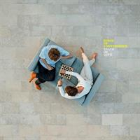 KINGS OF CONVENIENCE: PEACE OR LOVE-TRANSPARENT WHITE LP