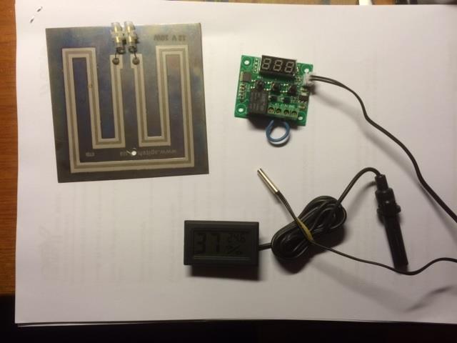Byggsats - elektronik för värmeskåp