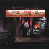 ELTON JOHN: DON'T SHOOT ME I'M ONLY THE PIANO PLAYER LP